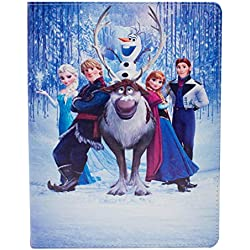 I-CHOOSE LIMITED Apple iPad Mini 4 Folio La Reine des Neiges Frozen Étui/Cuir de Protection en PU Intelligent Coque Flip/Groupe