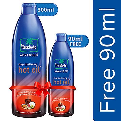 Parachute Advansed Ayurvedic Hot Oil, 300 ml with Free 90 ml Pack