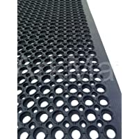 3 X Rubber Matting Water Resistant, Wet Areas, Pool Side, Outdoor Patios, Porch