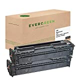 Evergreen CB540AD, CB540A, Canon 716BK Remanufactured Toner Pack of 1