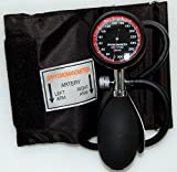 Valuemed Aneroid Palm Sphygmomanometer Clinical Sphyg Adult Cuff Pro CE & FDA Approved