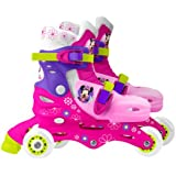 Stamp Disney Minnie Mouse Adjustable 2-in-1 Skates (Size 27-30)