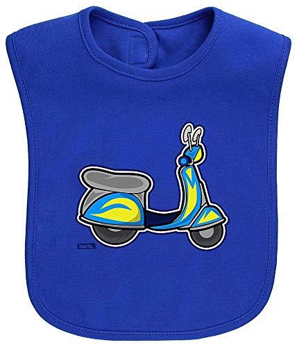 HARIZ Baby Lätzchen Roller Auto Polizei Plus Geschenkkarte Royal Königs Blau - Für Roller Räder Royal Roller