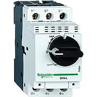 Schneider GV2L07 Motorschutzschalter, 3P, 2, 5A, Magnetischer Auslöser, Drehantrieb