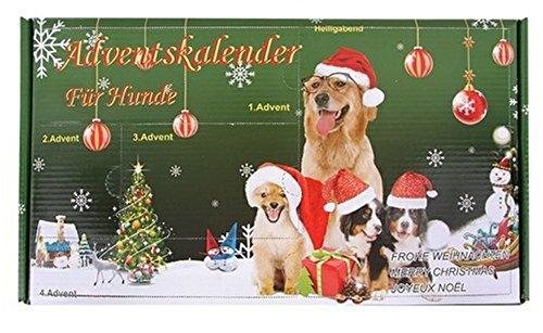 Calendrier de l'Avent pour Chiens Jouet pour chien Noël