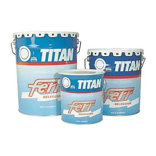 Titan Support Systems - Pintura Plastica Ferr Mate Blanca Exterior Fac