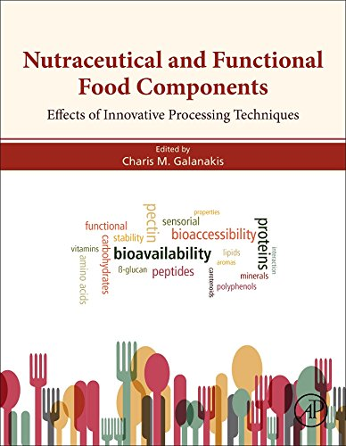 Nutraceutical and Functional Food Components: Effects of Innovative Processing Techniques