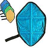 ZPL Mano-Free Scarpa di Boot Cover Pigro Portatile Automatico Scarpe Copre, Impermeabile e Riutilizzabile, per Sneakers e Stivali,Seablue