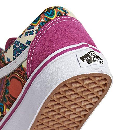 Vans UA Old Skool, Sneakers Basses Homme Multicolore