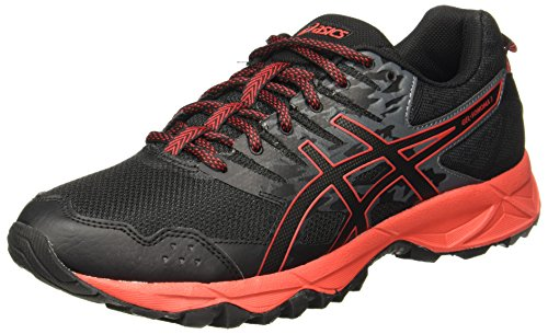 ASICS Men's Gel-Sonoma 3 Fiery Red/Black Trail Running Shoes - 6 UK/India (40 EU)(7 US)(T724N.9023)