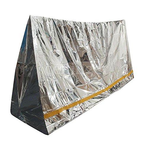 Outsell Coperte di Emergenza & Tenda di Emergenza - Isolante e Impermeabile (200 x 100 cm)