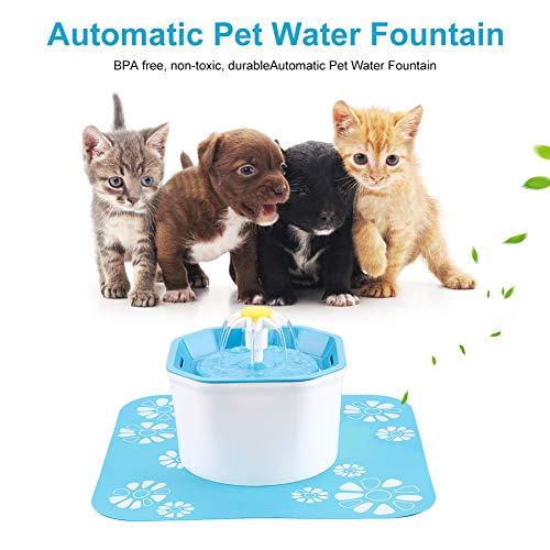 EisEyen Pet Drinker Bowl Trinkbrunnen Elektrische Automatische Katze Wasser Brunnen Hund Katze Wasser Brunnen 1.6L -