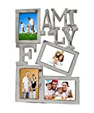 Pindia Wooden 4 Photo Family Picture Fra...