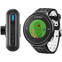 Garmin Approach S6 + Truswing - Pack Montre GPS de Golf + Capteur d'Analyse Swing - Noir