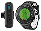 Garmin Approach S6 + Truswing - Pack Montre GPS de Golf + Capteur d'Analyse Swing - Noir