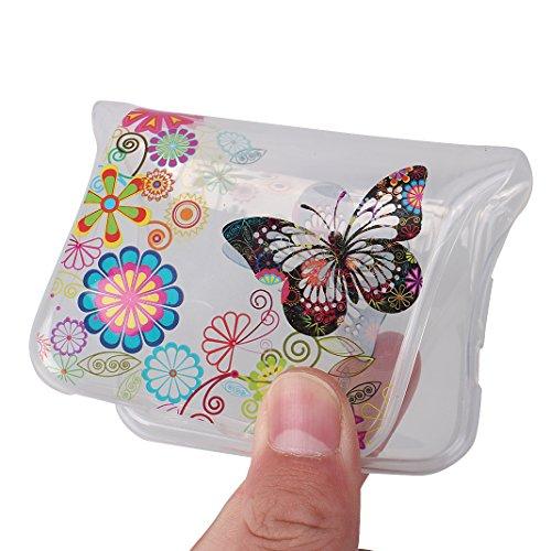 Cover Soft per iPhone X, Asnlove Morbida Elegante Caso Ultra Sottile TPU Gomma Gel Custodia Motif di Colore Cassa Antiurto Silicone Trasparente Case Posteriore Per iPhone X, Colore-17 Colore-10