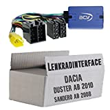 Lenkradfernbedienung Adapter Dacia Duster / Sandero >