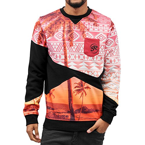 Just Rhyse Homme Hauts / Pullover Palms Multicolore