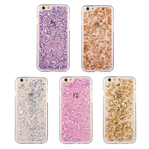MXNET Fall für iPhone 6 u. 6s, zerstreutes Platinum Muster TPU Schutzhülle ,Iphone 6/6s Case ( Color : Gold ) Rose gold