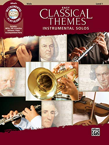 Easy Classical Themes Instrumental Solos: Viola (incl. CD)