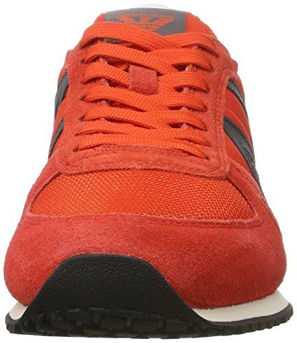 Armani - 9350277p420, Scarpe da ginnastica Uomo Orange (orange 1664)
