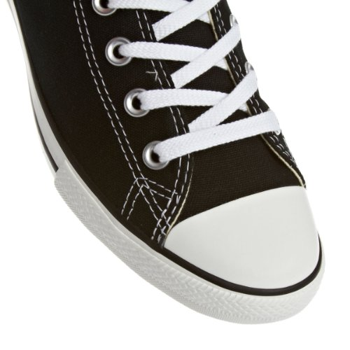 Converse Chuck Taylor All Star Core Slim Canvas Ox, Basket mode mixte adulte Black