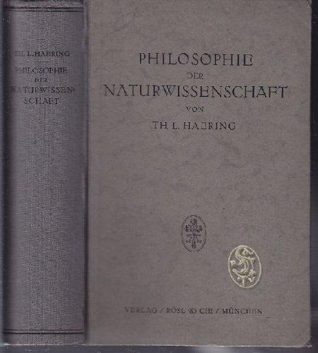 Philosophie der Naturwissenschaft
