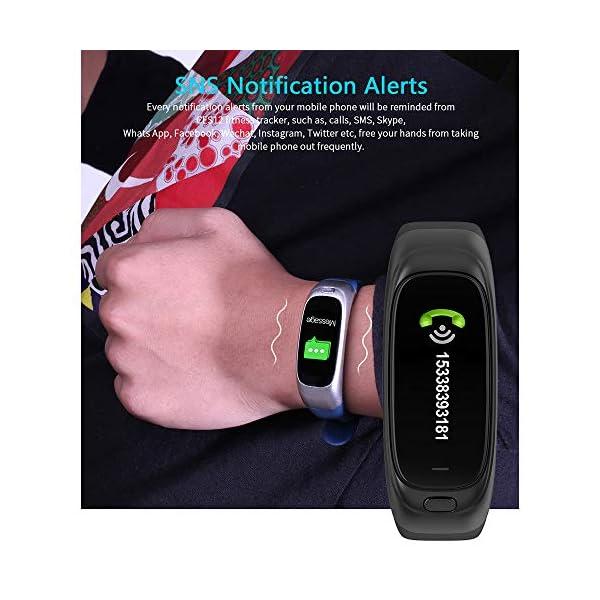 Festnight CES12 Fitness Tracker USB Flash Drive Reloj Inteligente Contador de Pasos Universal Monitor de Ritmo cardíaco Deporte Reloj Resistente al Agua 3