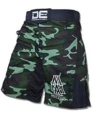 Danger MMA Muay Thai Pantalones Cortos Pantalones Cortos De fights camuflaje Camo, M (30 inch)