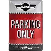 Nostalgic-Art 22243 Mini - Parking Only Red, Blechschild 20x30 cm