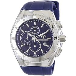 TechnoMarine 111004 - Reloj de pulsera hombre, Silicona, color Azul