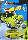 Yellow '67 Austin Mini Van Hot Wheels 2016 HW City Works #10/10 1:64 Scale Collectible Die Cast Metal Toy Car Model #175/250 on International Card by Austin Mini Van