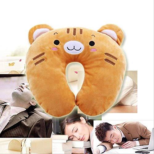 FHFF Plush Toy Coussin De Repos d'oreiller De Cou De Voyage d'animal Mignon en Forme De Cou pour des Enfants D'Adultes Dormant3