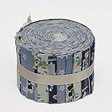 Hadsons 100% Baumwolle Jelly Rolls Stoff Stoff frei für