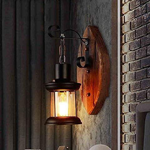 MEILING American Style Bar de la industria de salida Contador Creative Gear Lámpara de pared Retro Nostalgia Restaurante Bar Salón Estudio Wall luces