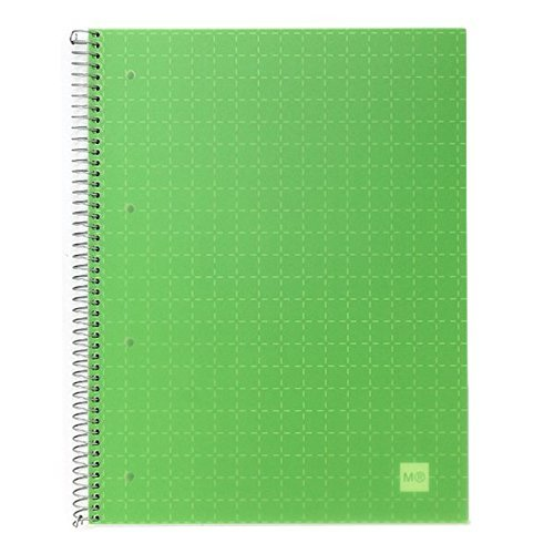 miquelrius-large-spiral-bound-grid-notebook-candy-code-apple-green-85-x-11-4-subject-graph-pages-by-