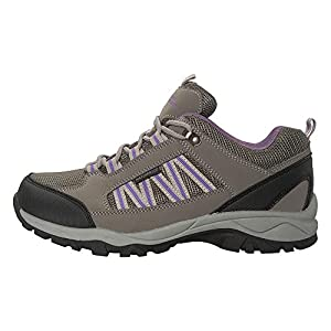 51xfzn2hDTL. SS300  - Mountain Warehouse Path Waterproof Womens Walking Shoes - Breathable Ladies Shoe, Mesh Lining, High Traction Sole Hiking…
