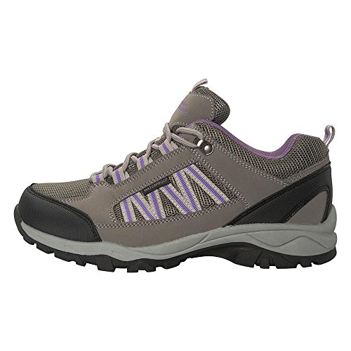 51xfzn2hDTL. SS500  - Mountain Warehouse Path Waterproof Womens Walking Shoes - Breathable Ladies Shoes, Mesh Lining, High Traction Sole Hiking Shoes - for Everyday Use