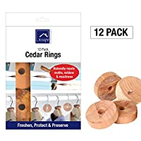Knight 100% Natural Cedar Wood Clothes Repellent for Moth Pest Mildew Mustiness