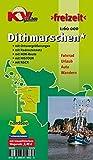 Dithmarschen Kreis: Freizeitkarte in 1:60.000 mit neuem Radroutennetz, NOK-Route, HISTOUR, NSCR, 15 Detailkarten 1:25.000 (KVplan-Freizeit-Reihe)