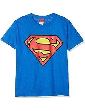 DC Comics Kids Superman Shield, Camiseta para Niños