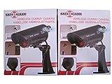 2x Kamera Dummy Überwachungskamera mit LED Licht Attrappe Alarmanlage Camera NEU