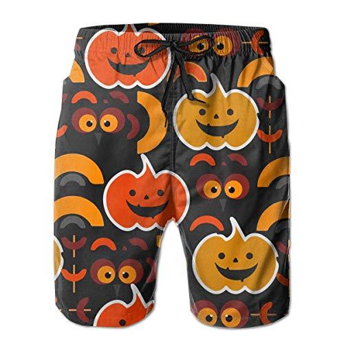 Bensontop My Funny und Cute Halloween Herren Strand Shorts Badehose L