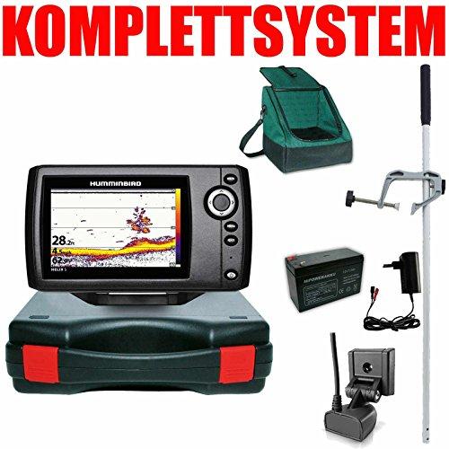 Humminbird Echolot Portabel Master Edition Plus Komplett - Helix 5 Sonar G2 Humminbird Kabel