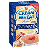 Cream of Wheat Instant Hot Cereal Cinnabon 350g (12.5oz) - American Import