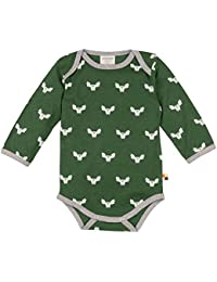 loud + proud Baby Body Woll-Anteil, Druck Bodysuit
