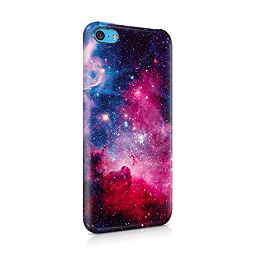 Cosmic Milkyway Galaxy Stars Stardust Tumblr Dünne Rückschale aus Hartplastik für iPhone 5C Handy Hülle Schutzhülle Slim Fit Case Cover