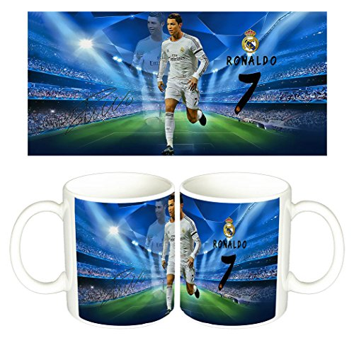 Cristiano Ronaldo Real Madrid CR7 B Taza Mug
