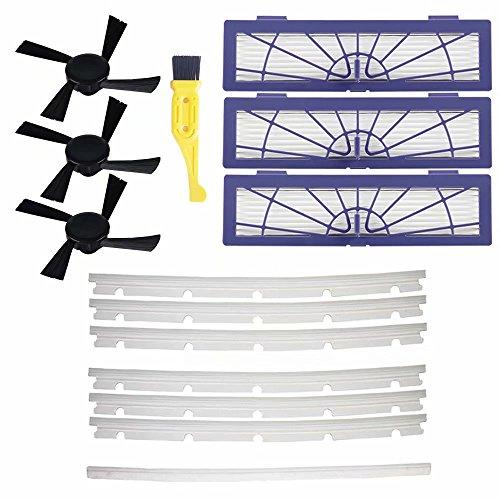 Huiaway sacchetti Raplacement kit detergente per parti per iRobot Roomba Neato Botvac 70E 7580& D Series accessori filtri Hepa e spazzole kit Vacuum ricambi