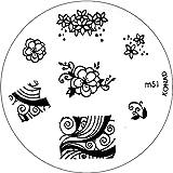 Konad Stamping Schablone M51